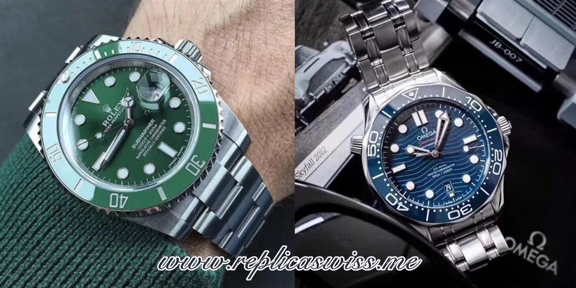 Which Series Of Replica Rolex Submariner And Replica Omega Seamaster Is Better?